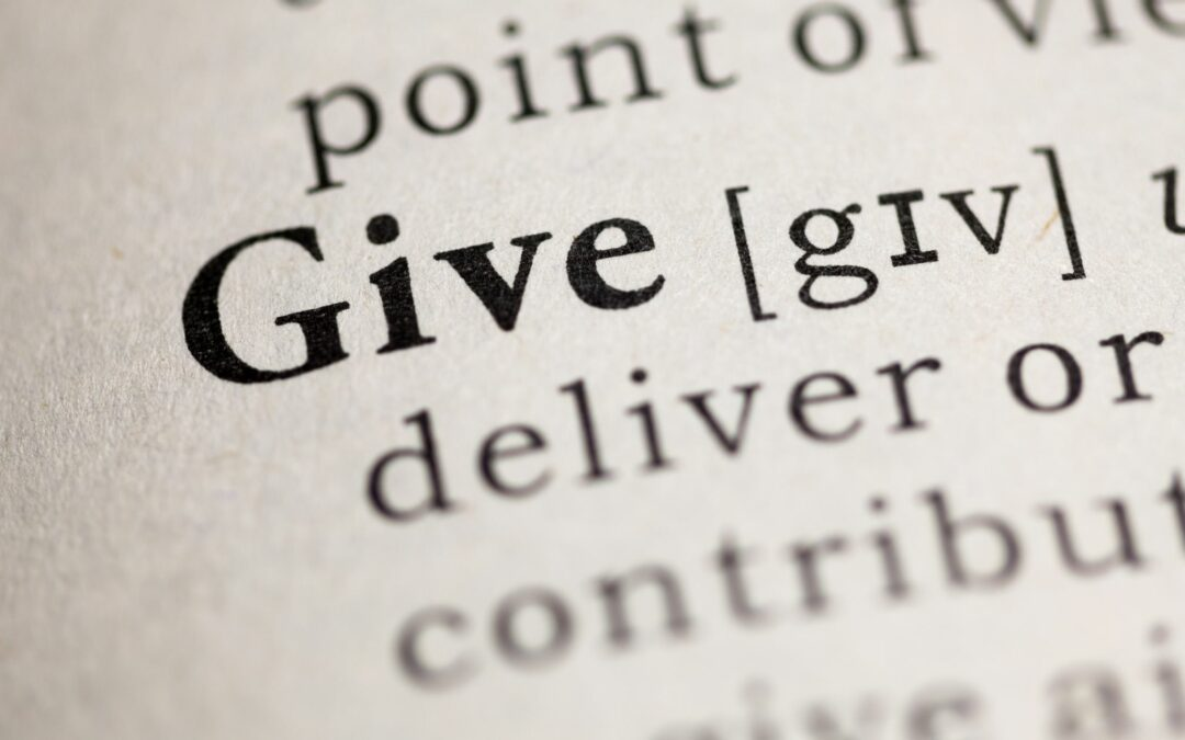 Charitable Giving During Covid: Intuition, Imagination, and Aligning Your Values