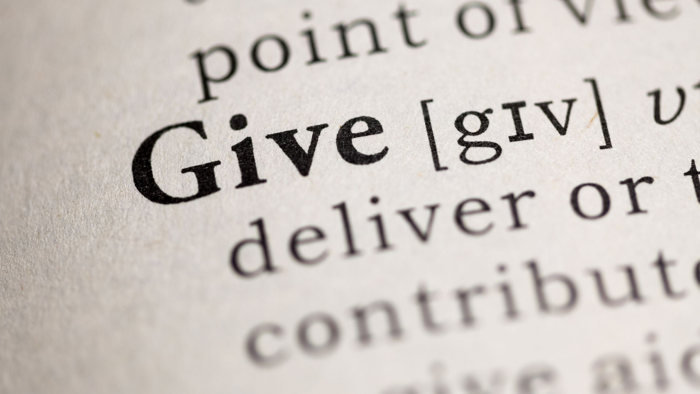 Charitable Giving During Covid