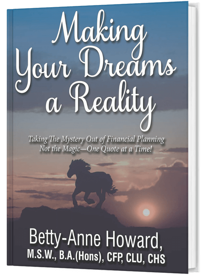 Making Your Dreams A Reality Book by Betty-Anne Howard