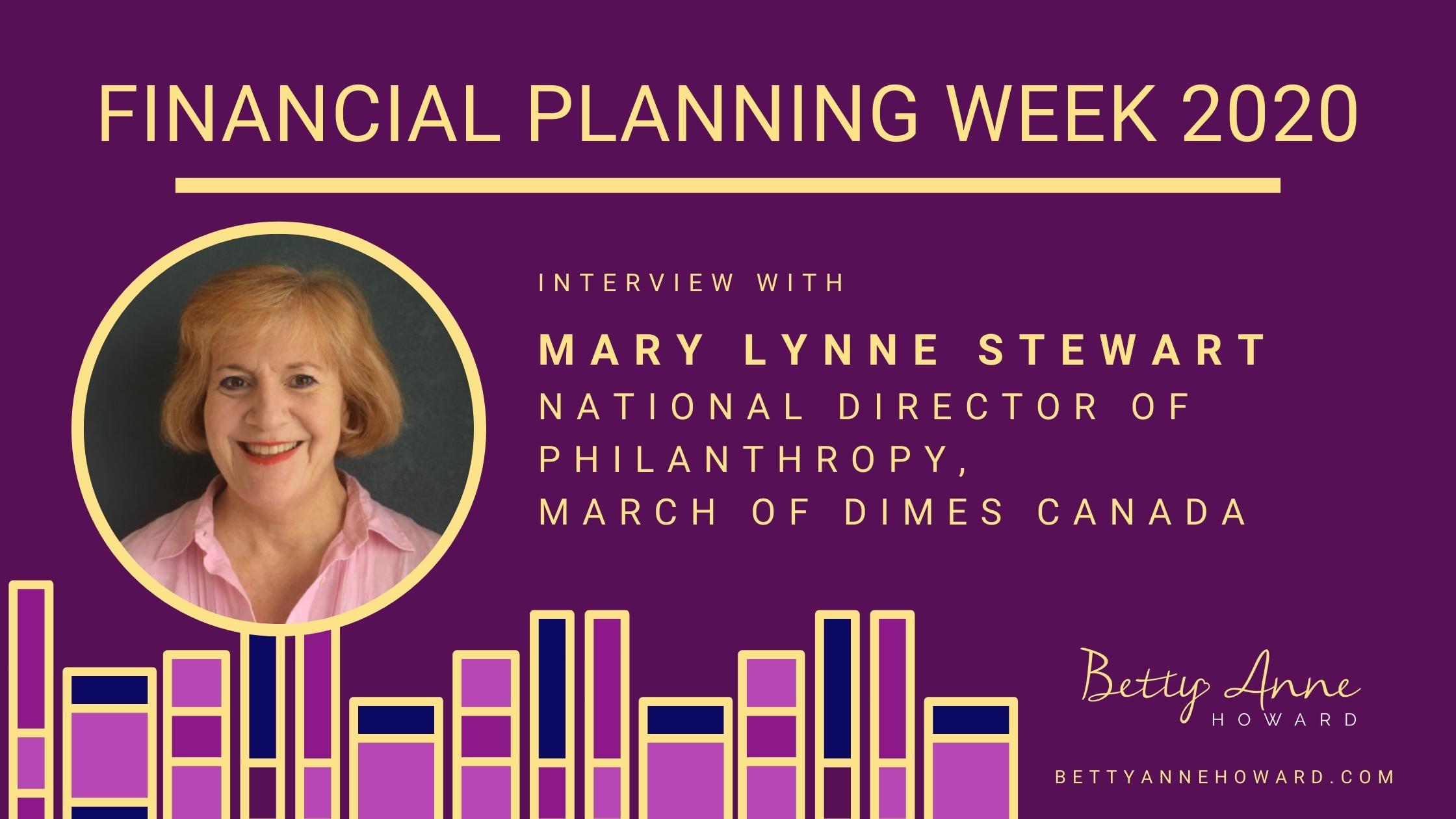 Mary Lynne Stewart March of Dimes Canada