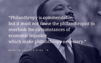 Meaningful Conversations: Is a new model for philanthropy necessary in 2021?